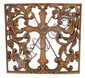 A Continental Carved Walnut Altarpiece Panel, 19th Century.