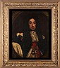 English School (18th Century) Portrait of King Charles II, Oil on canvas,