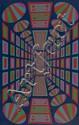 Roy Ahlgren (1927-2011) Lunar Control, Oil on canvas,