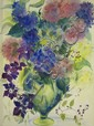 Marion Bryson (Cleveland, 20th Century) Floral Still Life, Water color on paper,