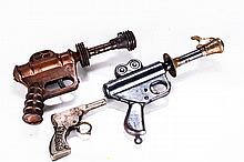 Two Metal Buck Rogers 25th Century Space Guns Manufactured by Daisy MFG Co., ca. 1930s,