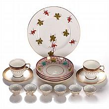 A Miscellaneous Collection of English, German and American Porcelain Serving Items, 19th/20th Century.