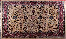 A Chinese Wool Rug, 20th Century.