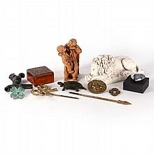 A Miscellaneous Collection of Decorative Items, 20th Century.