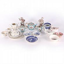A Miscellaneous Collection of Porcelain Serving and Decorative Items, 19th/20th Century.