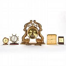 A Miscellaneous Collection of Clocks, 20th Century,