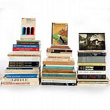 A Collection of Sixty Books Pertaining to Art and Art History, 20th Century.