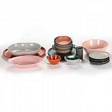 A Miscellaneous Collection of Mid-Century Modern Dinnerware, 20th Century,