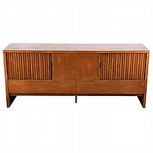 A Mid-Century Modern Oak Sideboard Attributed to Bertha Schaefer (1895-1971).