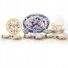 A Miscellaneous Collection of Italian Porcelain Decorative and Serving Items, 20th Century,