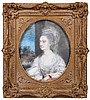 Attributed to Thomas Gainsborough (1727-1788) A Study for the Portrait of Lady Derby, Pastel and gouache on glue lined canvas,, Thomas Gainsborough, $0