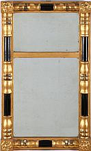 An American Federal Style Gilt Hardwood Mirror, 19th Century.