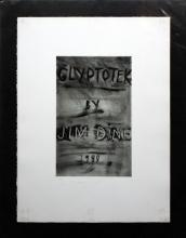 Jim Dine, one plate from Glyptotek
