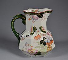 Antique Masons Jug Antique English masons jug, nice early  jug good colors.7 1/2