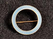 14k Gold & Enamel Pin