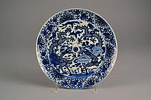 Chinese Blue & White Porcelain Plate Size : 8