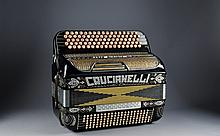 Crucianelli Accordian - Vanguard Model with Case