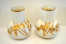 Pair Of Royal Worcester Vases
