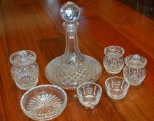 Seven Pieces Of Waterford Crystal