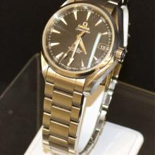 Man's Stainless Omega Seamaster Co-Axial Watch