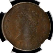 1808 Classic Head Large Cent NGC VF Details