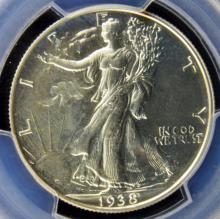 1938 Liberty Walking Half Dollar PCGS PR 64
