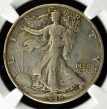 1938 D Liberty Walking Half Dollar NGC XF 40