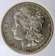 1883 S Morgan Silver Dollar NGC AU 53