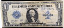 1923 $1 Silver Certificate Large Note VF Details