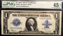 1923 $1 Silver Certificate Lg. Note PMG CEF 45 EPQ