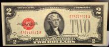 1928 G $2 Legal Tender Note Ch UNC Fr. #1508