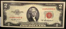 1953 A $2 Legal Tender Note Ch UNC Fr. #1510