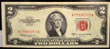 1953 C $2 Legal Tender Note Ch UNC Fr. #1512