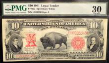 1901 $10 Legal Tender Large