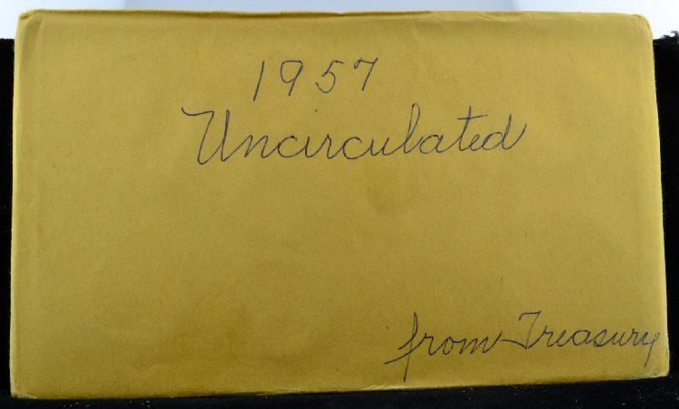1957 U.S. Mint Set Uncirculated - Unopened