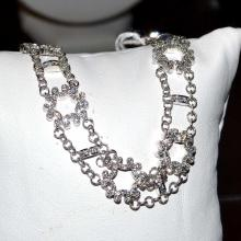 18kwg Diamond Bracelet By Charriol
