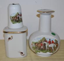 Horse theme decanter set