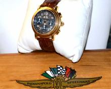 18k Maurice La Croix Indy 500 Flyback Watch