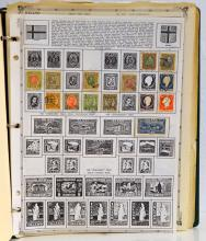 1 Book of 163 Iceland Stamps from the 1920s-1970s