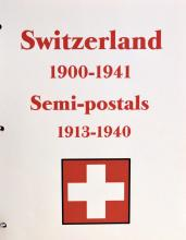 1 Book of 1900-1940 Switzerland Stamps