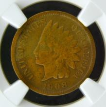 1908 S Indian Head Cent NGC VF Details I/C