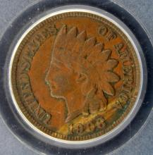 1908 S Indian Head Cent PCGS XF 45