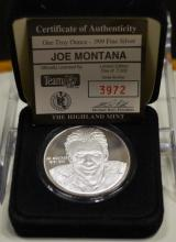 Joe Montana Medallion