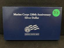 1775/2005 Marine Silver Dollar