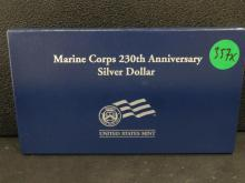 1775/2005 Marine Silver Dollar Proof