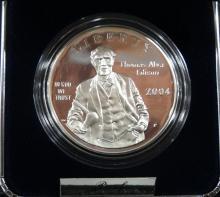 2004 Thomas Alva Edison Silver Dollar Proof