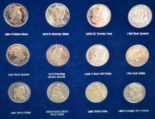 Copy of America's Greatest Silver Coins with Box