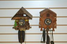 Two Cuckoo Clocks