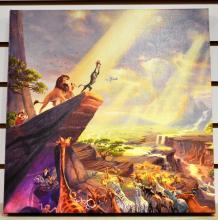 Thomas Kinkade 2011 Disney Lion King