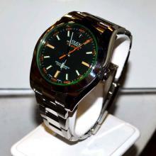 Man's Stainless Rolex Milgauss Watch